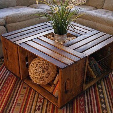 DIY Box Furniture