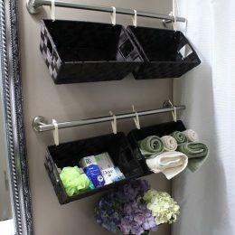 DIY Bathroom Organizer