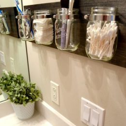 DIY Bathroom Organizer