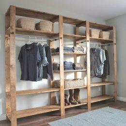 DIY Closet Organizers