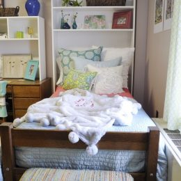 DIY Bedroom Organizer