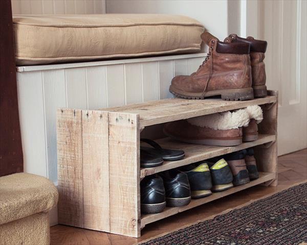 How To Make A Shoe Rack.Diy Shoe Rack Decor Ideas